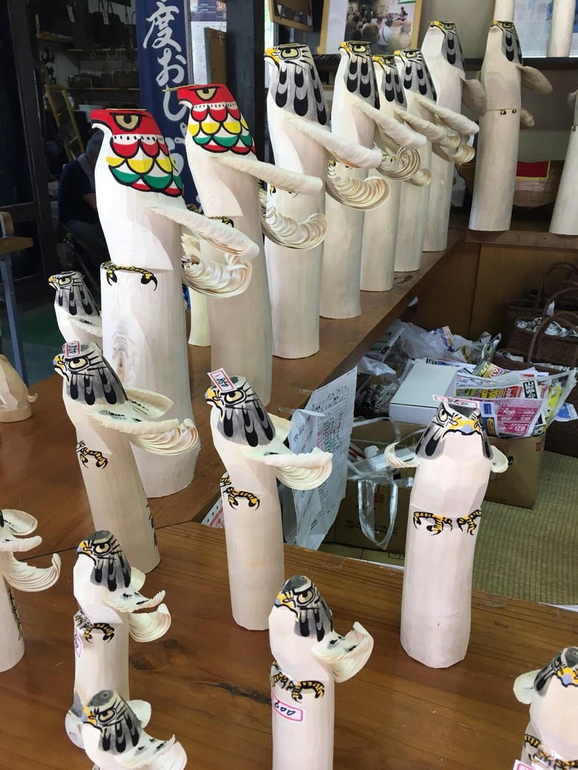 Traditional toy in Yamagata