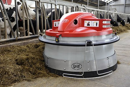 Lely Juno 150 automatic feed pusher