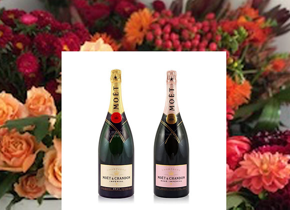 Luxury Blooms and Bubbles