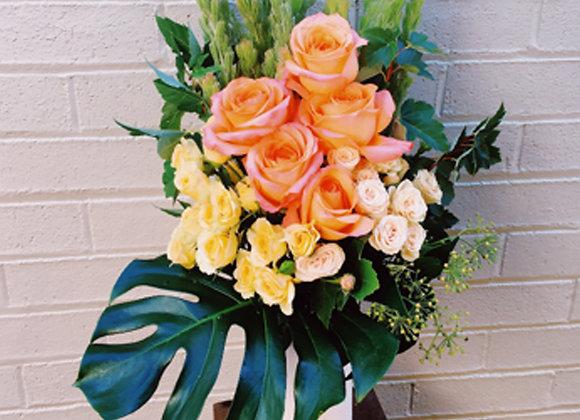 Large Seasonal Vase Arrangement