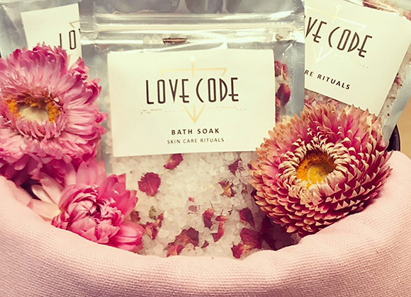 Love Code Bath Soaks