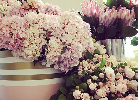 Luxury Floral Beauty Pot