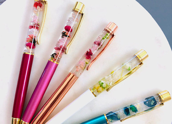 Preserved Flower Pen
