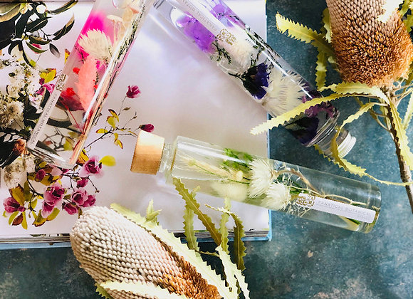 Preserved Flower Decorative Bottles