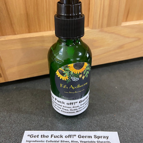 """Get the Fuck off!"" Germ Spray"