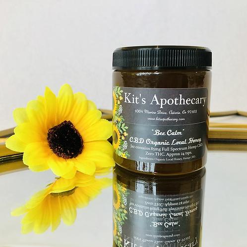 """""""Bee Calm"""" CBD Organic Local Honey"""