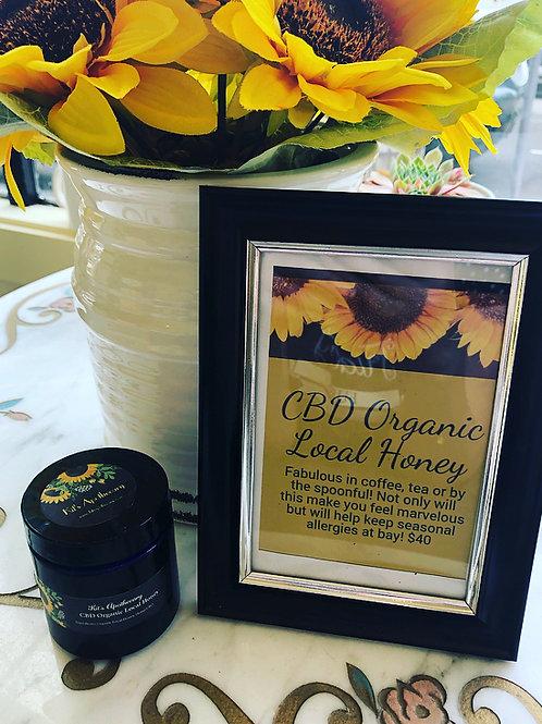 CBD Organic Local Honey