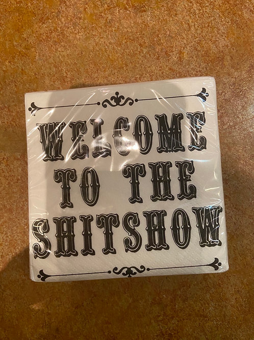 Napkins (welcome to the shit show)