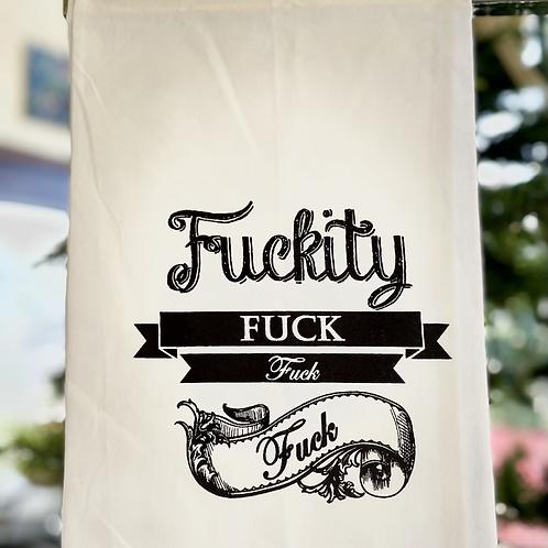"""Dish Towel """"Fuckity Fuck"""""""