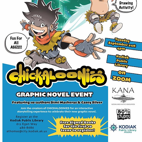 Chickaloonies - Graphic Novel Event