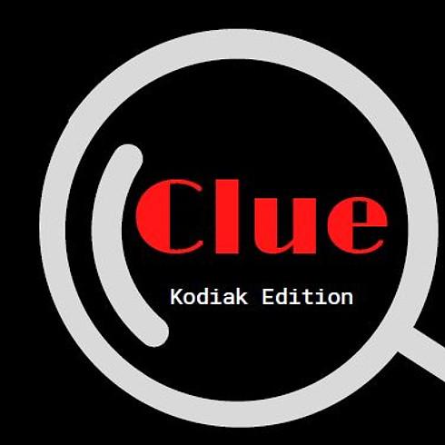 CLUE: Kodiak Edition Game #1