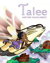 Talee and the Fallen Object Coloring Book Adventure