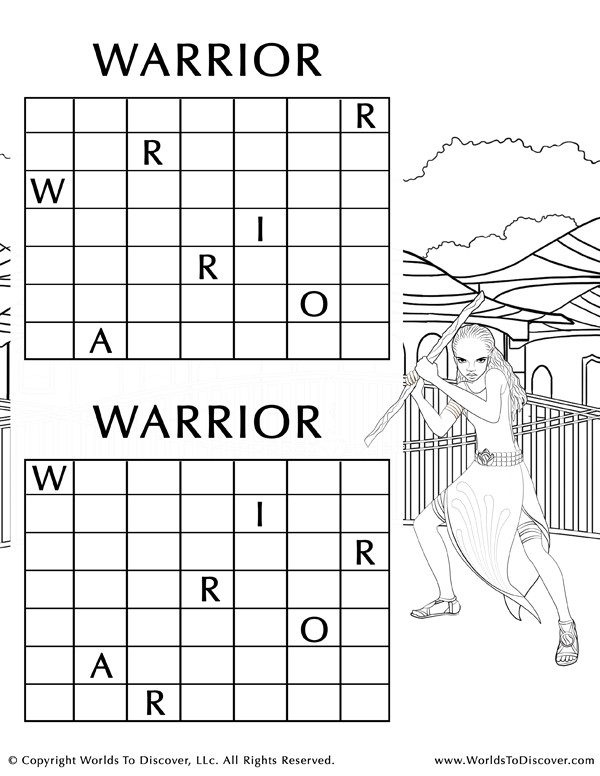 Anyia Warrior Puzzle