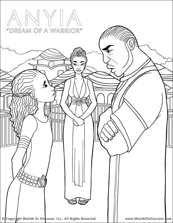 Anyia - Dream of a Warrior