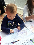 Worlds To Discover - A Day With Santa Fest - Coloring Time - Children's Book