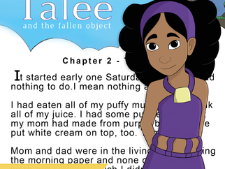 Begin the Adventure with Talee
