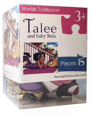 Talee and Baby Nola Puzzle