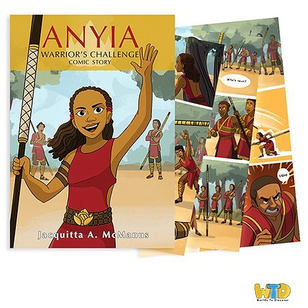 Girl Power!!! Anyia grew up dreaming of