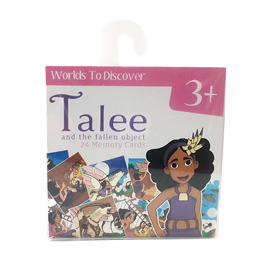 Talee and the Fallen Object Memory Cards