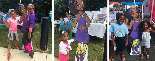 Worlds To Discover Festival Photo. Talee and friends - Children's Book