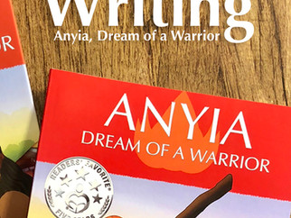 Writing Anyia, Dream of a Warrior