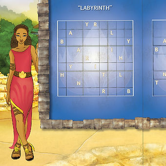 Anyia - Labyrinth Puzzle