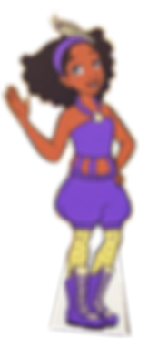 Talee Character Cutout