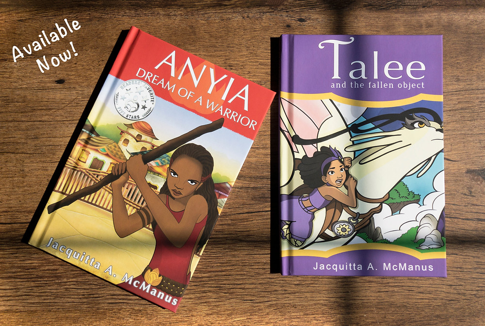 Anyia, Dream of a Warrior and Talee and the Fallen Object Hardcover Image