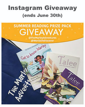 Instagam Giveaway Summer Reading Prize Pack