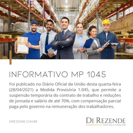 MEDIDA PROVISÓRIA 1.045/2021