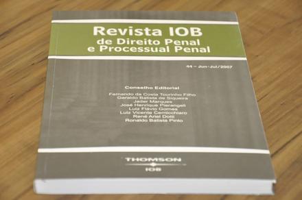 Revista IOB – Direito Penal e Processual Penal