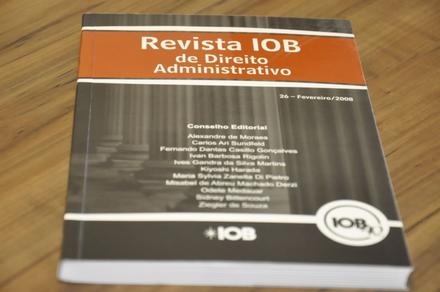 Revista IOB – Direito Administrativo
