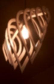 Illuminazione da design, legno, cnc, pantografo, falegname