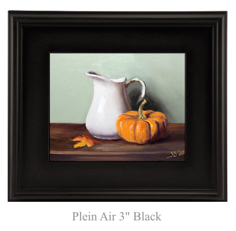 White Pitcher and Pumpkin_2