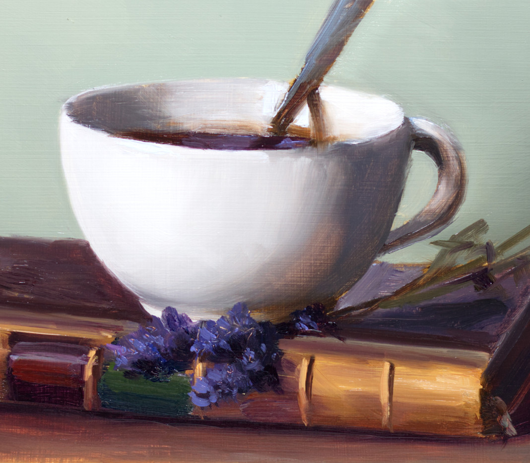 Coffee, Book and Lavender_4