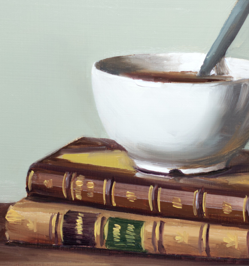 Antique Books and Coffee_4