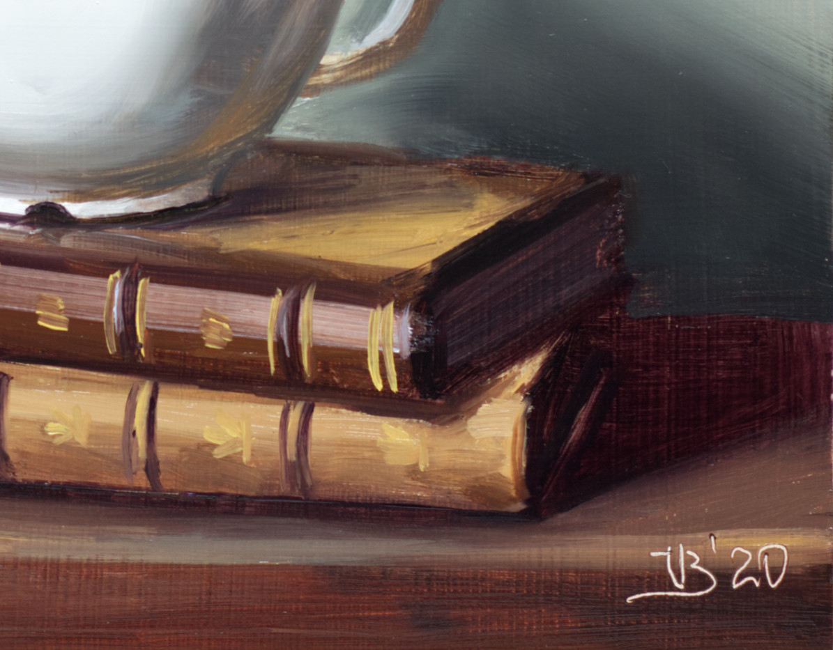 Antique Books and Coffee_3