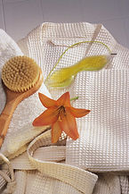 Dry brushing helps your lymphatic system.