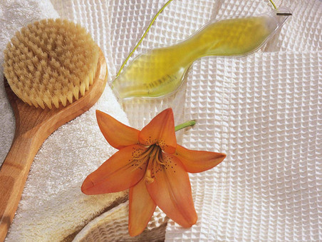 love the skin you're in - a dry brushing how to