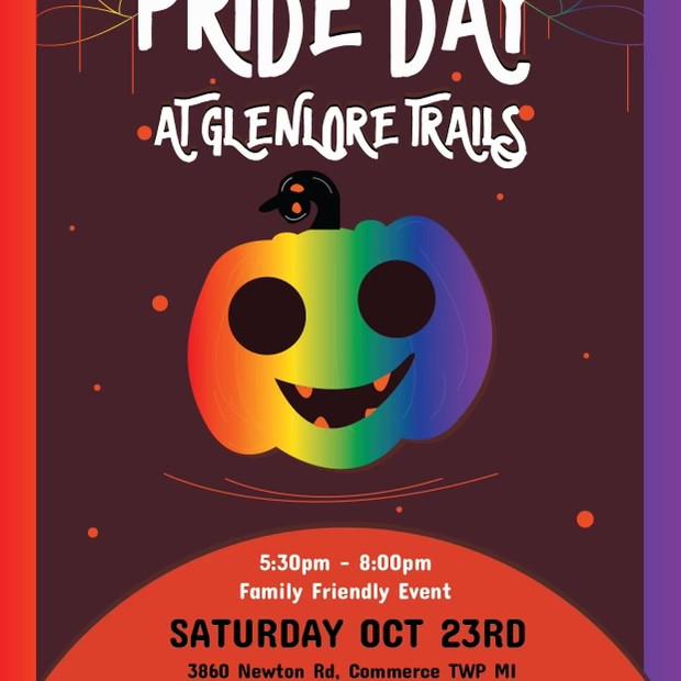 🏳️🌈 Pride Day at Glenlore Trails 🎃