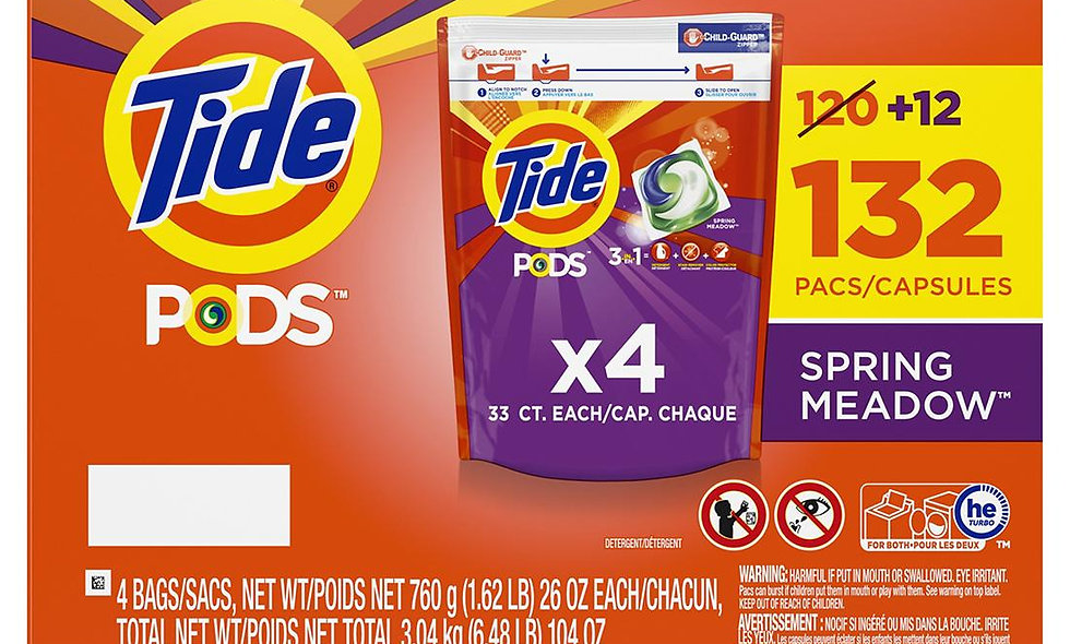 Tide Pods 132ct