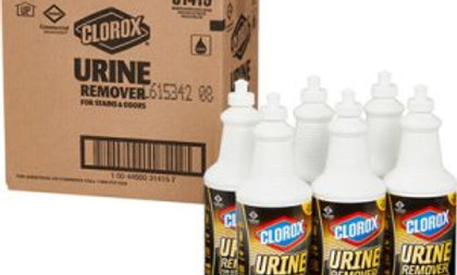 Clorox urine remover pull top, 12 bottles