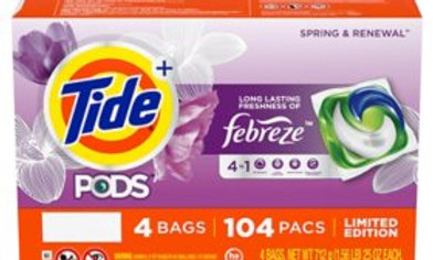 Tide pods spring & renew *Limited Edition