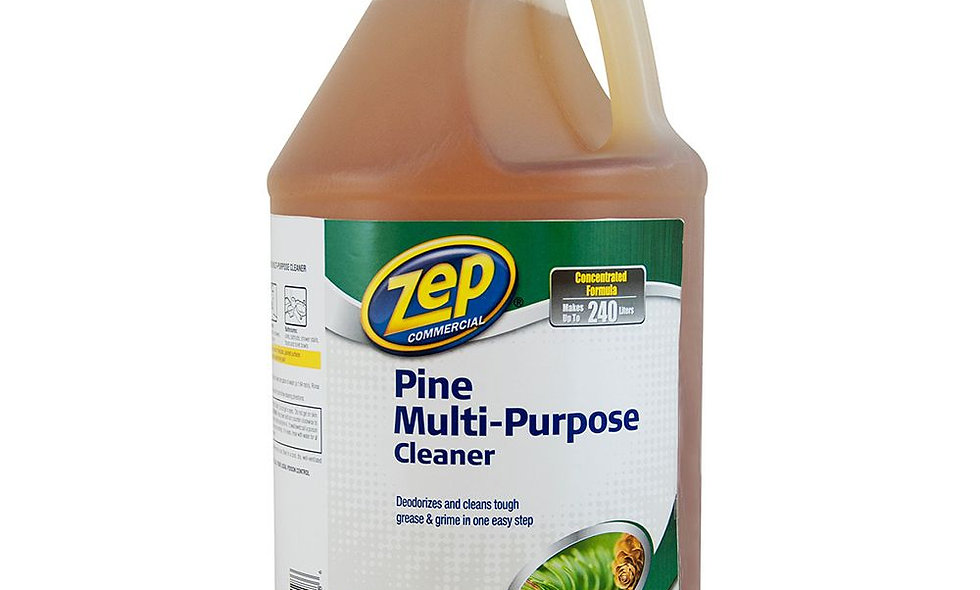 Zep Pine Multi-Purpose Cleaner, Pine Scent, 1 gal