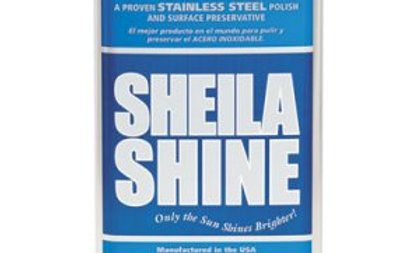 Sheila Shine Stainless Steel Cleaner & Polish, 1qt Can,