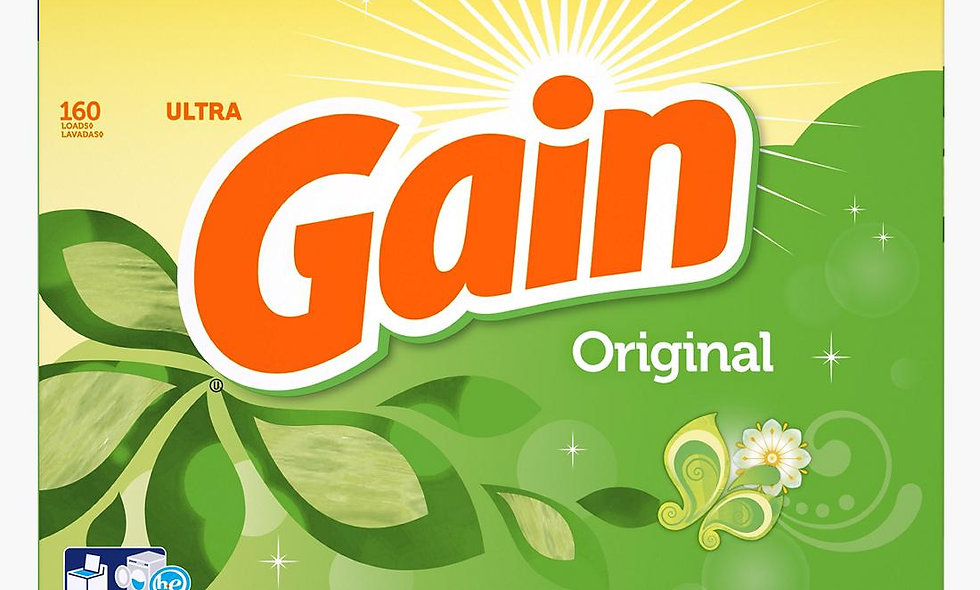 Gain Original HE Powder Laundry Detergent, 183 oz