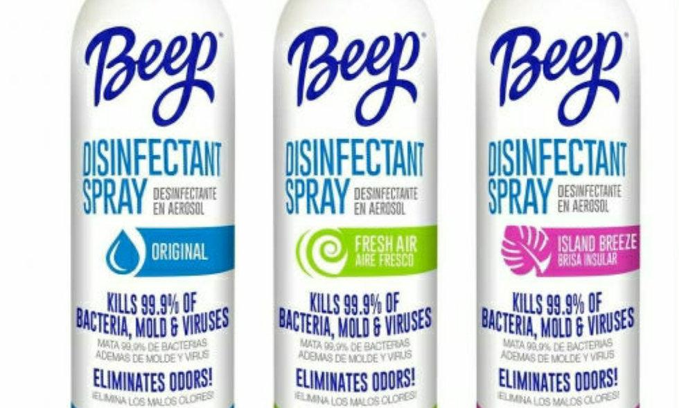 Beep disinfectant spray