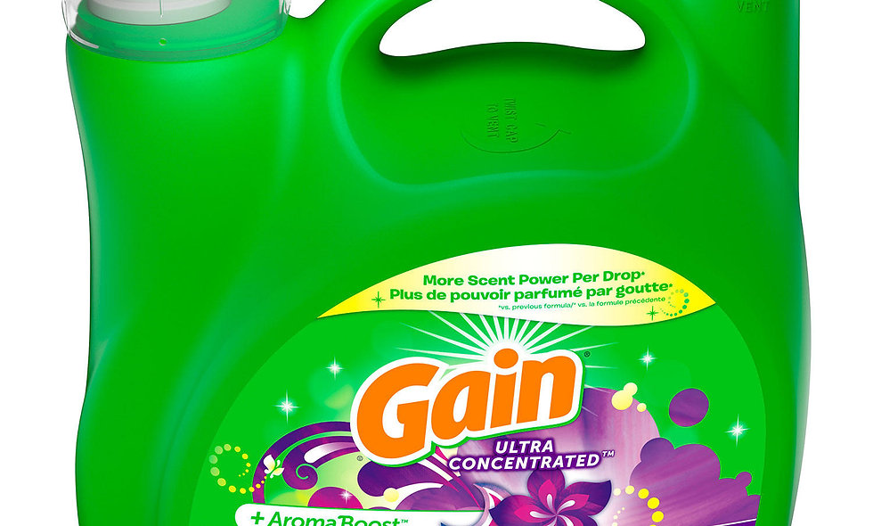 Gain Ultra Concentrated Liquid Laundry Detergent, Moonlight Breeze (146 loads, 2
