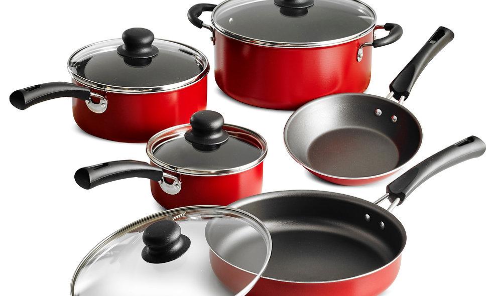 Tramontina 9 piece Non-stick cookware set