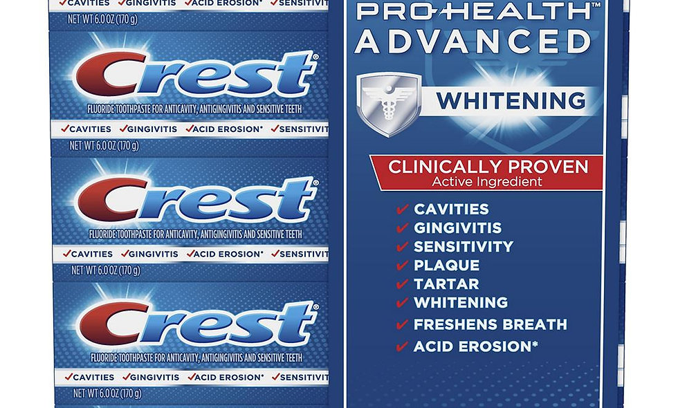 Crest Advanced Toothpaste